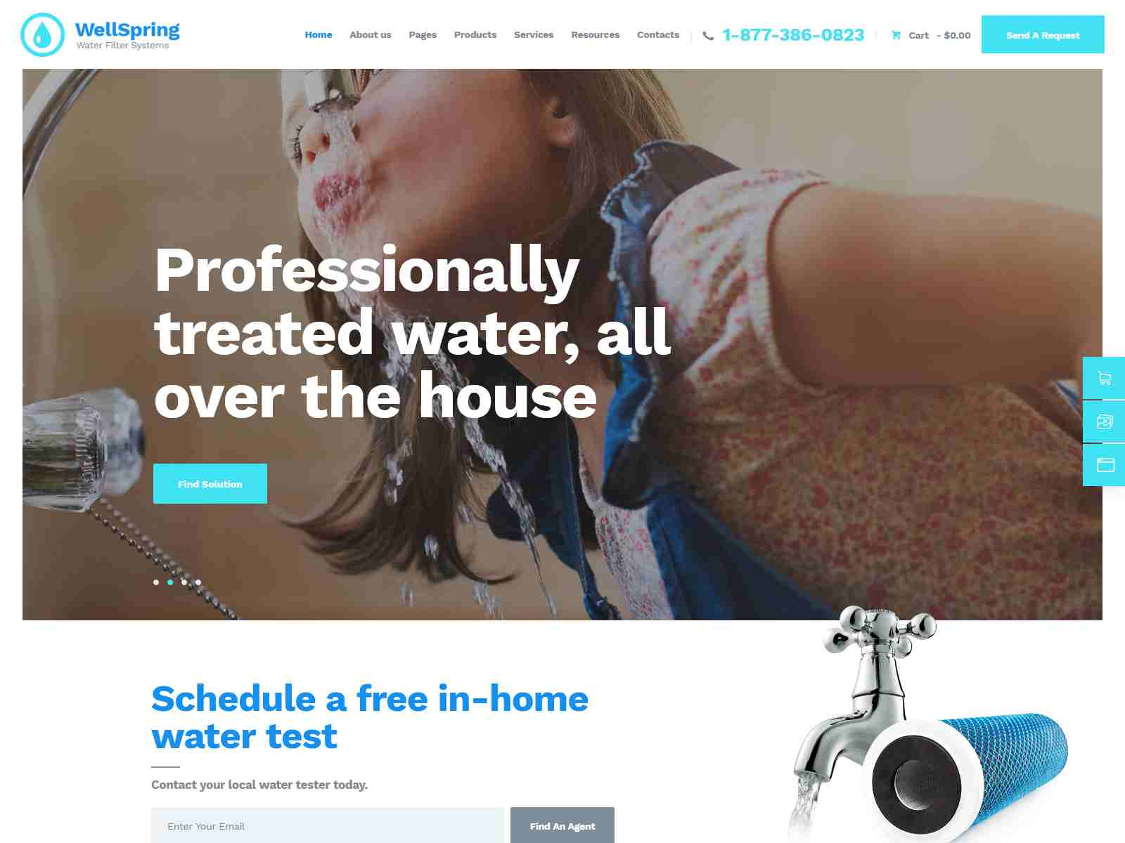 Best Premium Water Filter WordPress Themes