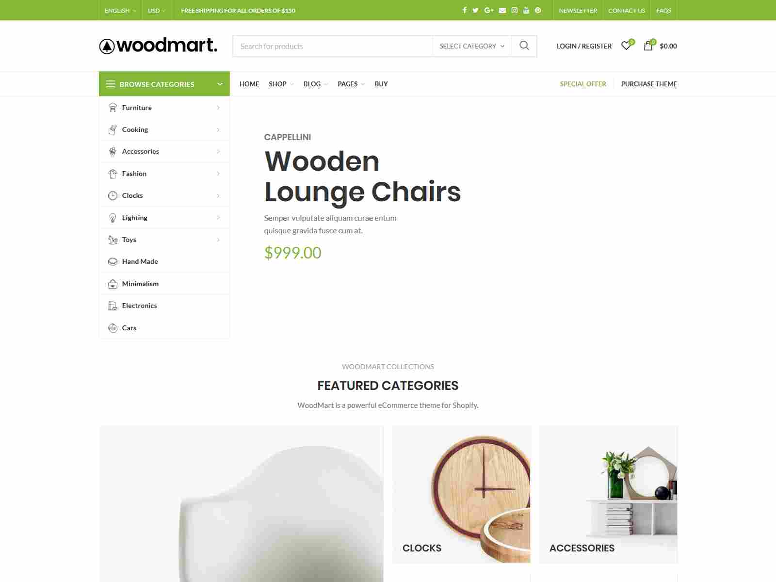 Woodmart - Responsive Shopify Template  Jewelry Shop Shopify Theme