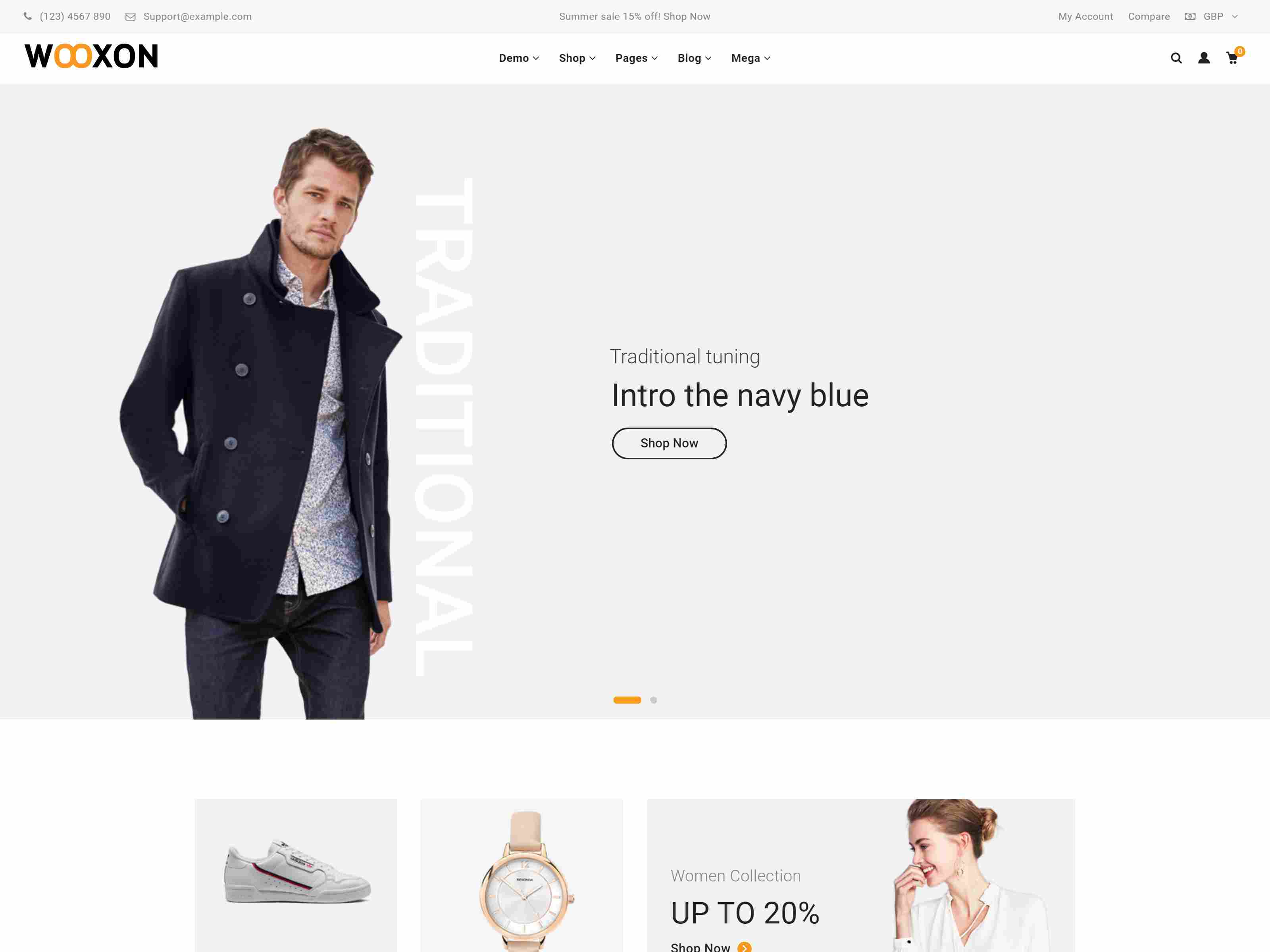 Wooxon - WooCommerce WordPress Theme