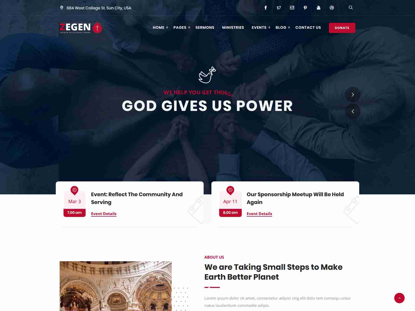Best Premium Nonprofit WordPress Themes