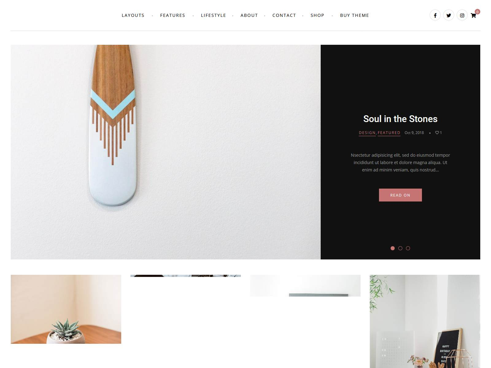 Zobo - A WordPress Blog and Shop Theme